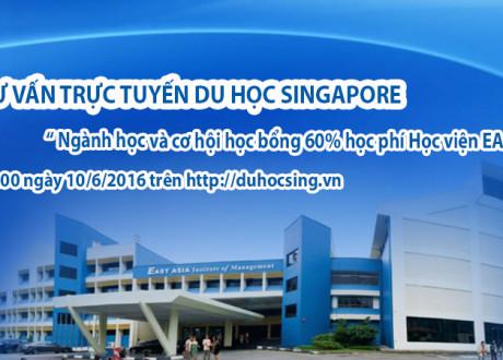 Tư vấn trực tuyến du học Singapore tại Học viện EASB
