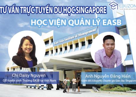 Đang tư vấn trực tuyến với đại diện Học viện EASB, Singapore