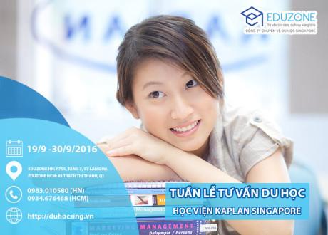 Tuần lễ tư vấn du học Singapore: Tốt nghiệp lớp 9, có bằng cử nhân sau 26 tháng tại Kaplan